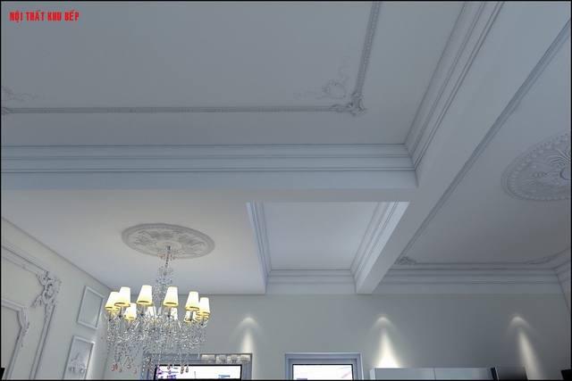 Thiết kế trần nhà bếp đẹp