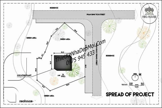 bản vẽ quy hoạch thiết kế nhà vườn