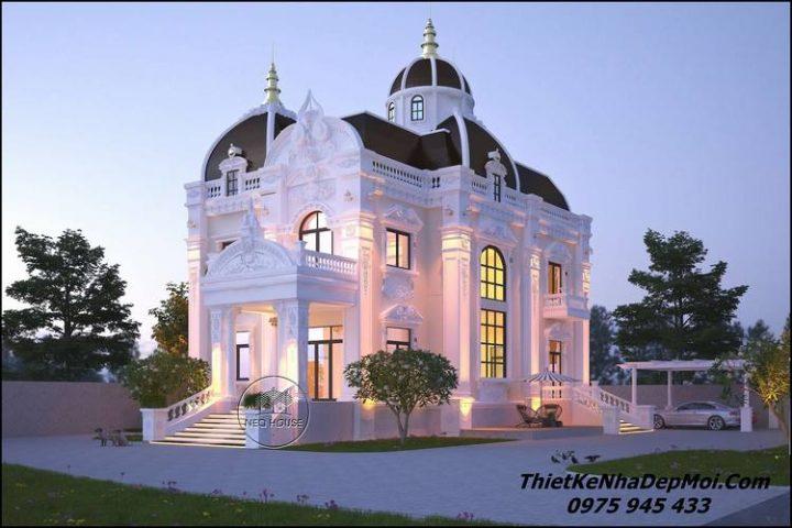 Biệt thự cổ điển đẹp nhất ở Bình Phước