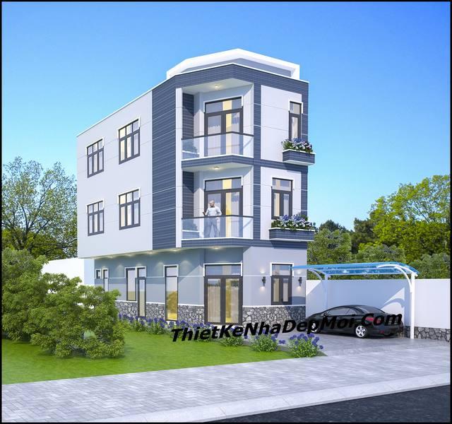 Chi phí xây nhà 50m2 3 tầng