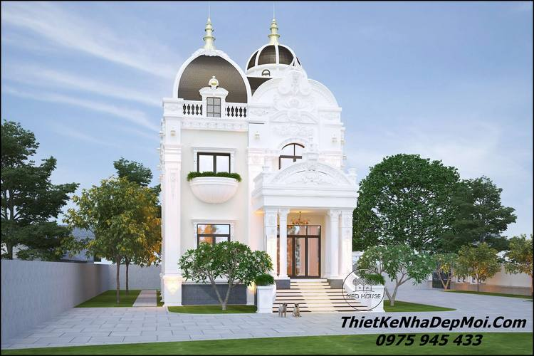 Kiến trúc biệt thự cổ điển đẹp