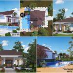 Kiến trúc nhà vườn đẹp 1 tang cap 4