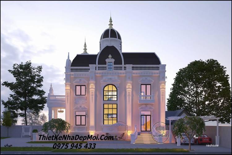 Mẫu biệt thự cổ điển đẹp nhất