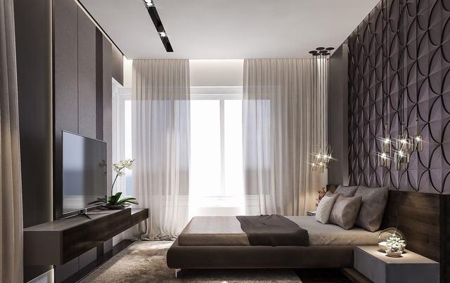 Mẫu phòng ngủ hiện đại châu âu