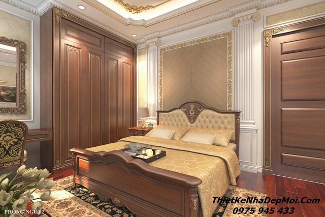 Mẫu phòng ngủ tân cổ điển