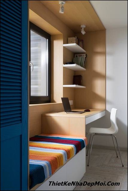 Thiết kế nội thất nhà diện tích nhỏ hẹp