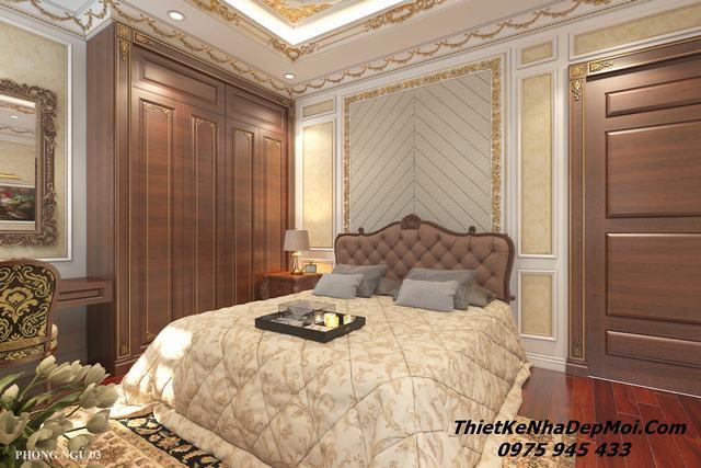 Nội thất phòng ngủ tân cổ điển đẹp nhất