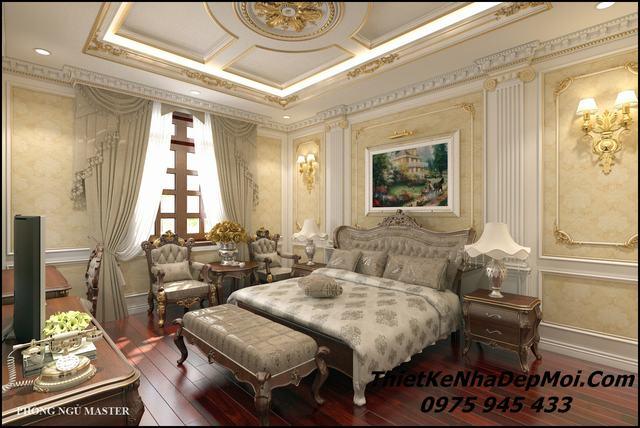 Phòng ngủ cổ điển master