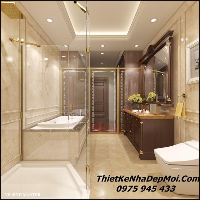 Mẫu phòng vệ sinh vip cao cao