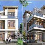 Thiết kế biệt thự 3 tầng 8.5x13