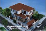 Mẫu thiết kế nhà 2 tầng 100m2