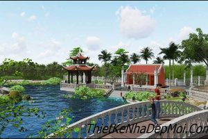 Thiết kế sân vườn đẹp đơn giản