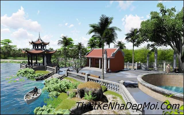 Thiết kế sân vườn đẹp ngoài trời
