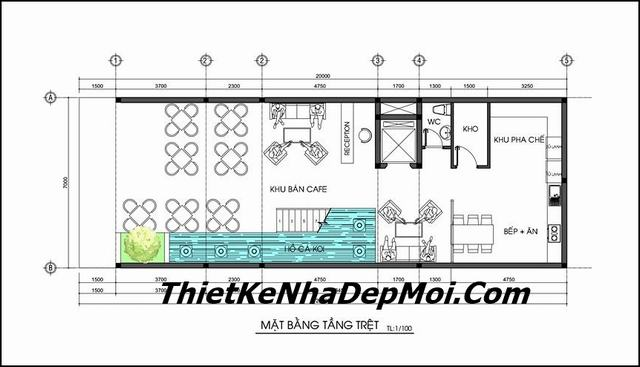 Bản vẽ thiết kế nhà nghỉ