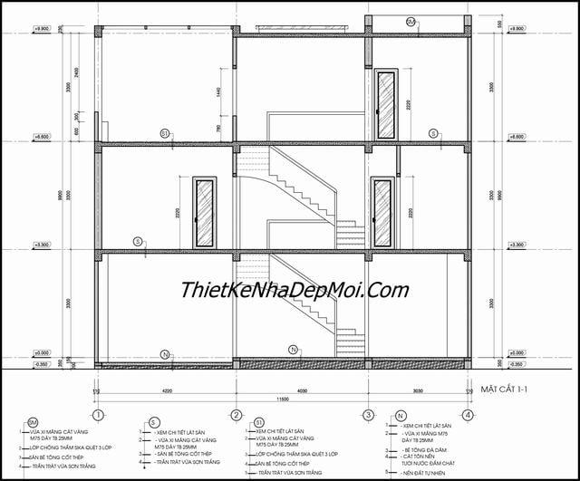 Bản vẽ xây nhà miễn phí 700 triệu
