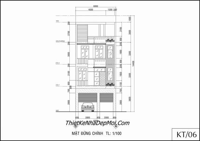 Thiết kế nhà phố thương mại tphcm