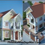 Mẫu nhà 2 tầng mái ngói đẹp