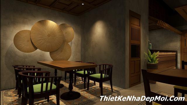 Cách trang trí quán ăn đẹp