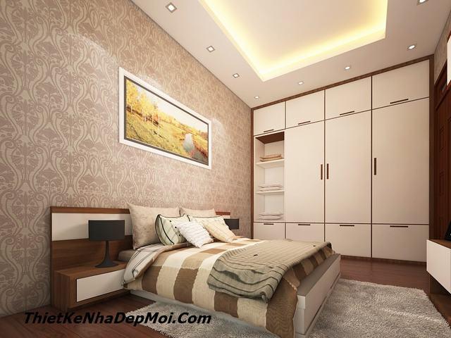 Mẫu phòng ngủ rộng 19m2