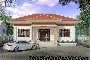 Nhà 1 tầng đẹp hiện đại