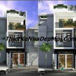 Nhà đẹp 3 tầng 5x16m