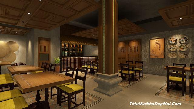 Nội thất nhà hàng đẹp