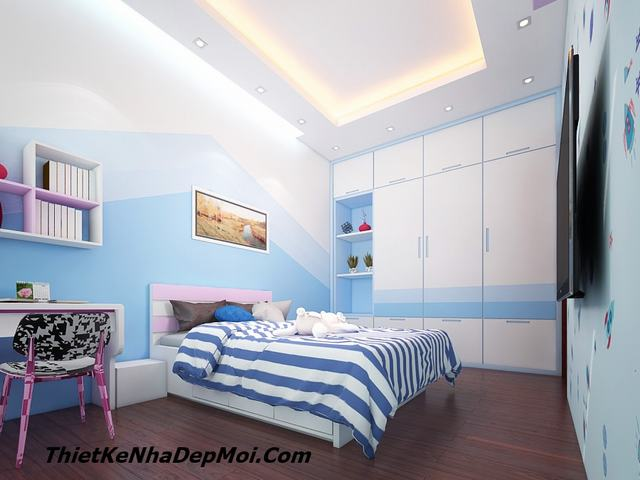 Mẫu nội thất phòng ngủ con trai đẹp nhất