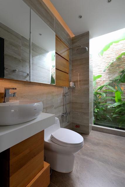 Phòng vệ sinh chung đẹp