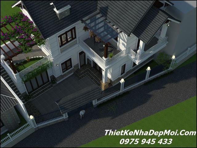 Thiết kế nhà chiều dài ngắn