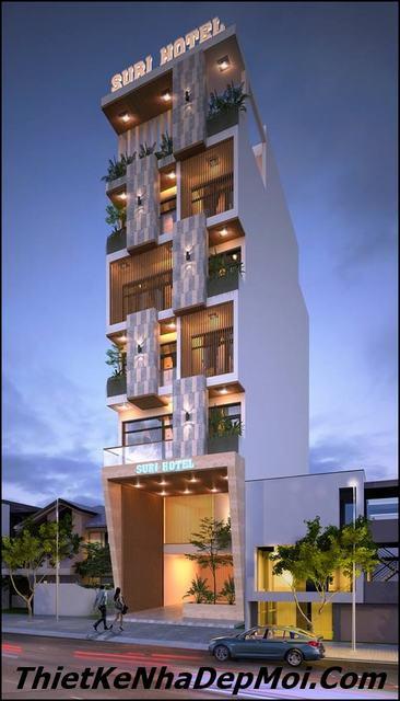 Thiết kế khách sạn nhà nghỉ mini