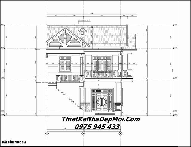 Thiết kế nhà theo chiều ngang