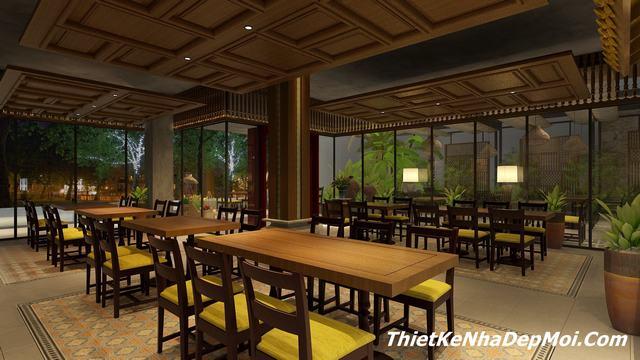 Thiết kế quán ăn đẹp