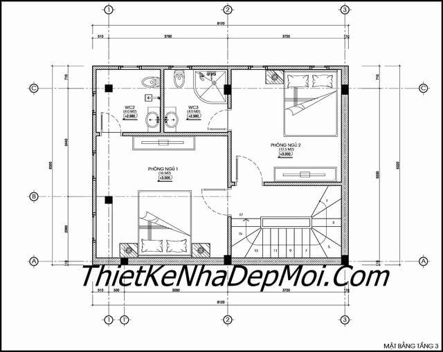 Tư vấn thiết kế nhà 6x8m
