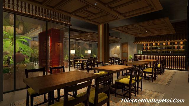 Tư vấn thiết kế nội thất nhà hàng