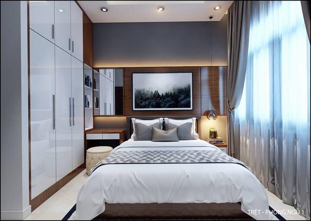 Mẫu phòng ngủ đẹp 14m2