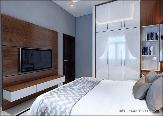 Phòng ngủ đẹp 16m2