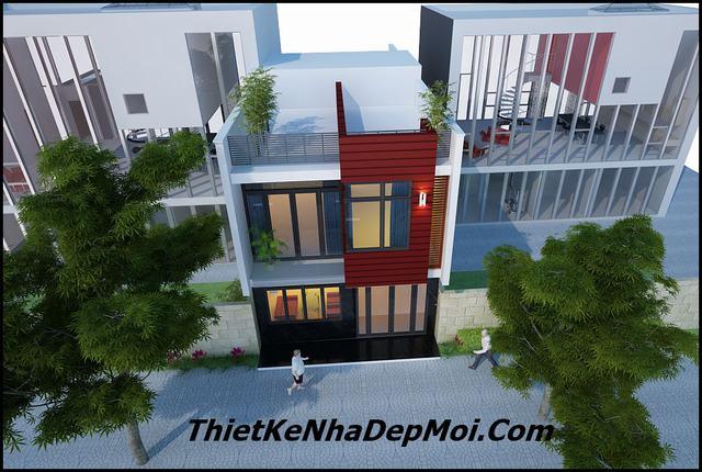 Thiết kế nhà phố 6x10m