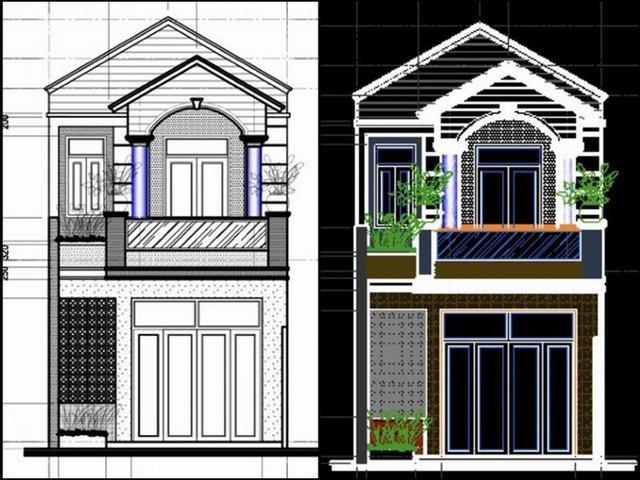 Thiết kế nhà 1 tầng 70m2 3 phòng ngủ