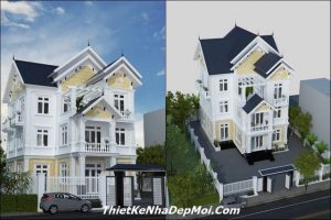 Biệt thự 3 tầng ở Bình Phước