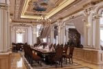 Phòng ăn cổ điển châu âu