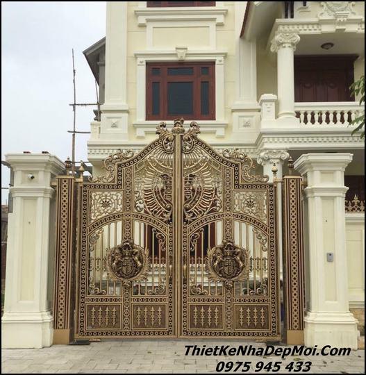 Mẫu cổng hợp kim đẹp