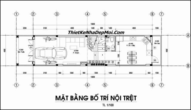 Ban ve nha 4x16m 3.5 tầng 65m2