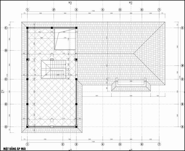 Bản vẽ cải tạo nhà cấp 4 3 gian