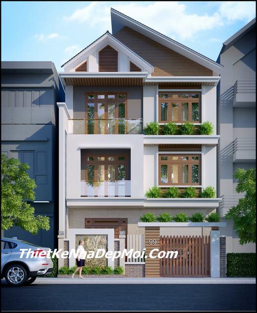 Nhà mặt tiền phố đẹp 2019
