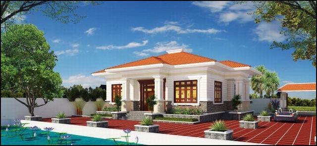 Nhà mái ngói Nam Bộ