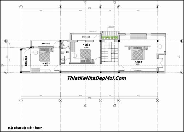 Tư vấn thiết kế nhà thóp hậu
