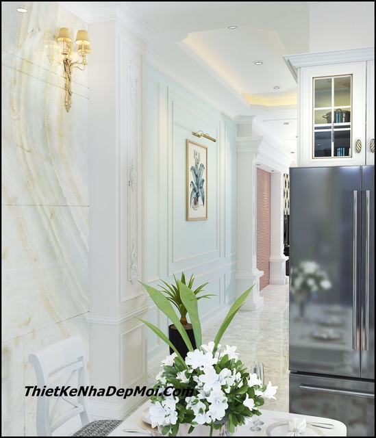 Thiết kế nội thất nhà phố giá rẻ