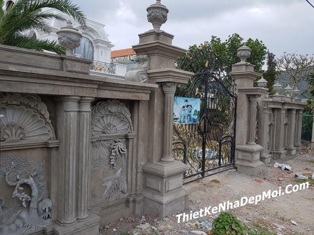 Thi công cổng biệt thự giá rẻ tại Tiền Giang