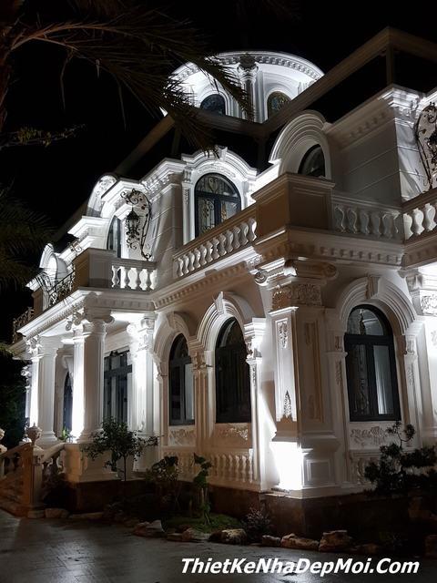 Xây nhà biệt thự vườn đẹp ở Tiền Giang