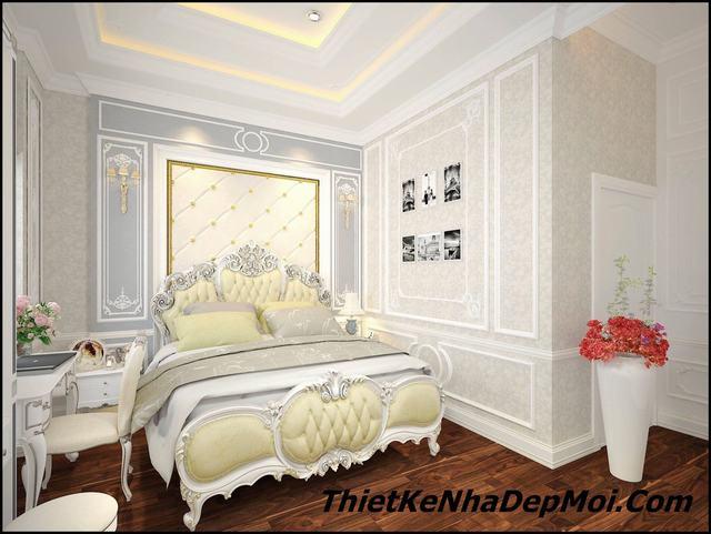 căn hộ 100m2 3 phòng ngủ cổ điển